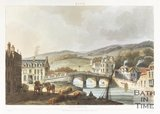 Bath Old Bridge, 1804