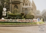 Bathwick Roundabout floral display, Bath 1996