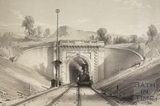 Box tunnel western portal 1840