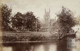 Bath Abbey from the River c.1890