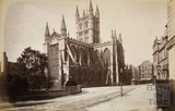 Bath Abbey from the North East, Bath c.1890