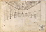 Inside the Simpson's or Harrison's Lower Assembly Rooms, Bath c.1740-1770