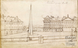 Queen Square and Nash's Ray, Bath c.1740-1770