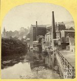 River Avon and Kingston Mills, Bradford on Avon 1863