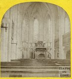 Interior of St. Michael's Church, Bath c.1865