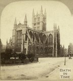 Bath Abbey from Orange Grove, Bath c.1870