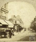 Pulteney Bridge from Bridge Street, Bath c.1870