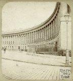 The Royal Crescent, Bath c.1859