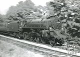 Standard class 4 4-6-0 engine No. 75073 near Midford on the Somerset and Dorset Joint Line, c.1960