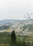 Batheaston Bypass From Bathampton Down, 1995