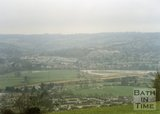 Batheaston Bypass Under Construction, From Bathampton Down), 1995