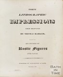 Frontispiece to Thomas Barkers Forty Lithographic Impressions from Drawings of Rustic Figures after Nature, 1813