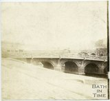 The Old Bridge, Bath, 1849