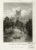 East View of Bath Cathedral 1816