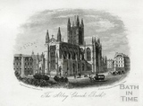 The Abbey Church, Bath c.1865