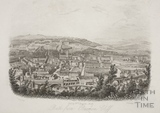 Bath from Beechen Cliff 1850