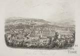 Bath from Beechen Cliff 1850