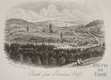 Bath from Beechen Cliff c.1860