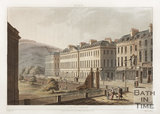 North Parade, Bath, 1802