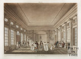 Inside the Pump Room, Bath, 1804