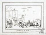 Comforts of Bath, the Kings Bath 1798