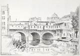 Pulteney Bridge from the north, Bath c.1890-1920