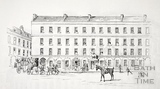 The Old White Hart Hotel (before the Grand Pump Room Hotel), Stall Street, Bath c.1890-1920