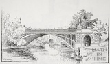 North Parade Bridge, Bath c.1890-1920