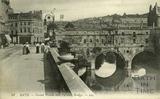 Grand Parade and Pulteney Bridge, Bath c.1905