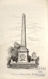Column in Victoria Park, Bath c.1893