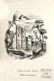 Sham Castle, Bath before restoration c.1893