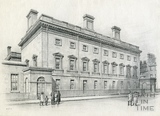 The Assembly Rooms from Alfred Street, Bath 1939