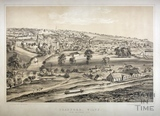 Bradford-on-Avon from Westwood Hill c.1850