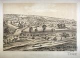 Bradford-on-Avon from Westwood Hill c.1850