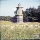 Lansdown Monument, Lansdown, Bath c.1965