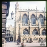 South side, Bath Abbey, Bath c.1965