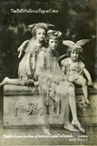 The Bath Historical Pageant. Masters Lewis, Gardiner & Davis as Cupids, The Sonnets 1909