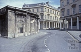 Bath Street from Hot Bath Street, Bath 1979
