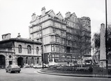 The Empire Hotel from Orange Grove, Bath 1987