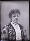 Suffragette Georgina Brackenbury 1910