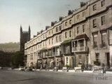 Georgian Houses, Raby Place, Bathwick Hill 1962