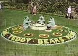 Floral display, Parade Gardens c.1960