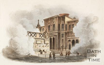King's Bath, Bath 1806
