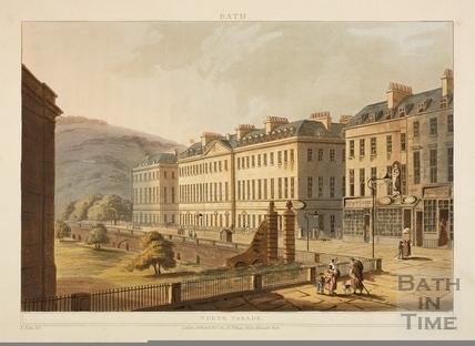 North Parade, Bath 1802