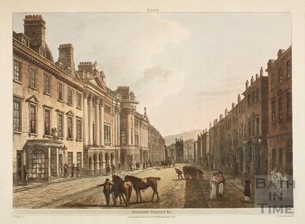 Milsom Street, Bath 1805