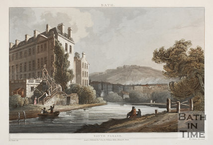 The Old Ferry, South Parade, Bath 1804