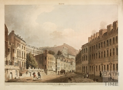 Axford's and Paragon Buildings, Bath 1804