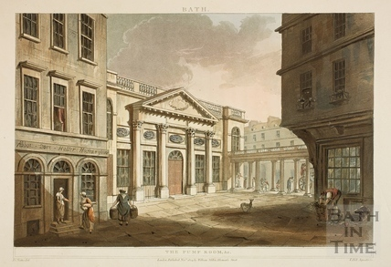 The Pump Room, Bath 1804
