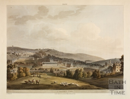 View towards Bath 1805