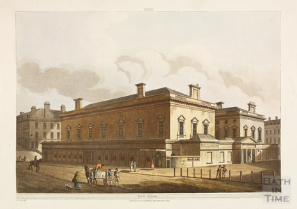 The Upper Assembly Rooms, Bath 1805